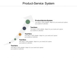 Product Service System Ppt Powerpoint Presentation Summary Ideas Cpb