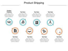 Product Shipping Ppt Powerpoint Presentation Professional Gallery Cpb