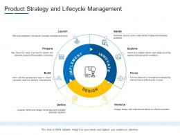 Product Strategy And Lifecycle Management Product Channel Segmentation Ppt Summary