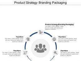 Product Strategy Branding Packaging Ppt Powerpoint Presentation Infographic Template Cpb