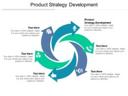 Product Strategy Development Ppt Powerpoint Presentation Gallery Templates Cpb