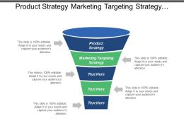 Product Strategy Marketing Targeting Strategy Customer Oriented Marketing Cpb