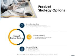 Product Strategy Options Ppt Powerpoint Presentation File Clipart Images