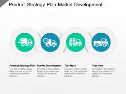Product Strategy Plan Market Development Management Challenges Financial Kpis Cpb