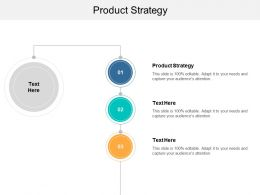 Product Strategy Ppt Powerpoint Presentation Slides Brochure Cpb