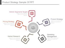 Product Strategy Sample Of Ppt