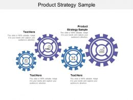 Product Strategy Sample Ppt Powerpoint Presentation Infographics Show Cpb