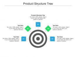 Product Structure Tree Ppt Powerpoint Presentation Layouts Visuals Cpb