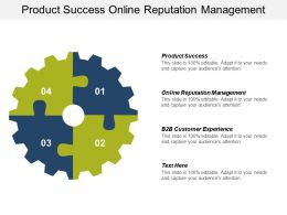 Product Success Online Reputation Management B2b Customer Experience Cpb