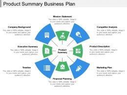 Product Summary Business Plan