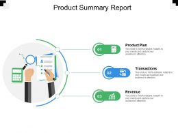 Product Summary Report