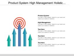 Product System High Management Holistic Innovation Strength Weakness Analysis