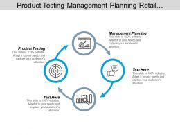 Product Testing Management Planning Retail Management Customer Satisfaction Cpb