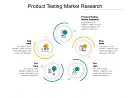 Product Testing Market Research Ppt Powerpoint Presentation Portfolio Cpb