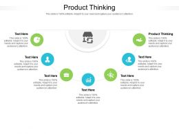 Product Thinking Ppt Powerpoint Presentation Summary Template