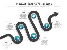 Product Timeline PPT Images Timeline Powerpoint Template