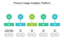 Product Usage Analytics Platform Ppt Powerpoint Presentation Gallery Files Cpb