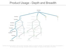 Product Usage Depth And Breadth Ppt Slides