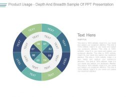 Product Usage Depth And Breadth Sample Of Ppt Presentation
