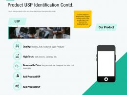 Product USP Identification Contd Flaunt Ppt Powerpoint Presentation Visual Aids Portfolio