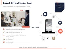Product USP Identification Contd Quality Ppt Powerpoint Presentation Gallery Pictures