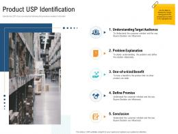 Product USP Identification Unique Selling Proposition Of Product Ppt Formats
