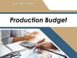 Production Budget Powerpoint Presentation Slides