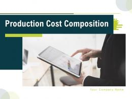 Production Cost Composition Powerpoint Presentation Slides