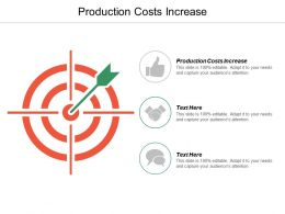 Production Costs Increase Ppt Powerpoint Presentation Professional Outline Cpb