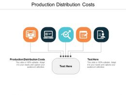 Production Distribution Costs Ppt Powerpoint Presentation Show Shapes Cpb