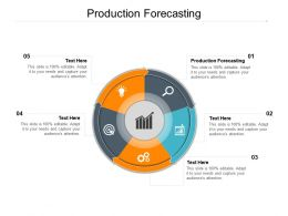 Production Forecasting Ppt Powerpoint Presentation Gallery Example File Cpb