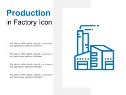 Production In Factory Icon