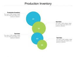 Production Inventory Ppt Powerpoint Presentation File Example File Cpb