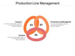 Production Line Management Ppt Powerpoint Presentation Professional Cpb