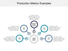 Production Metrics Examples Ppt Powerpoint Presentation File Graphics Example Cpb