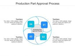 Production Part Approval Process Ppt Powerpoint Presentation Styles Graphics Cpb