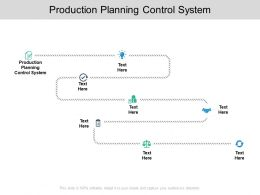 Production Planning Control System Ppt Powerpoint Presentation Outline Cpb