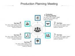 Production Planning Meeting Ppt Powerpoint Presentation Professional Portfolio Cpb