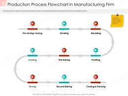 Production Process Flowchart In Manufacturing Firm Business Procedure Manual Ppt Summary Example Topics