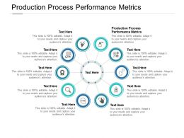 Production Process Performance Metrics Ppt Powerpoint Presentation Styles Cpb