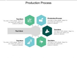 Production Process Ppt Powerpoint Presentation Icon Design Ideas Cpb