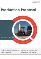 Production Proposal Example Document Report Doc Pdf Ppt