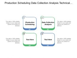Production Scheduling Data Collection Analysis Technical Documentation Business Sophistication