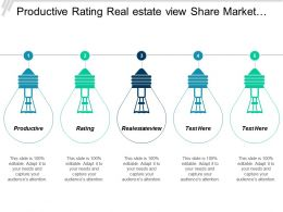 productive_rating_real_estate_view_share_market_bible_message_statistics_cpb_Slide01