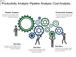 Productivity Analysis Pipeline Analysis Cost Analysis Quality Analysis