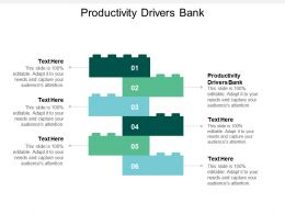 Productivity Drivers Bank Ppt Powerpoint Presentation Portfolio Graphics Design Cpb