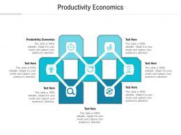 Productivity Economics Ppt Powerpoint Presentation Infographic Template Graphics Cpb