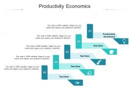 Productivity Economics Ppt Powerpoint Presentation Outline Outfit Cpb