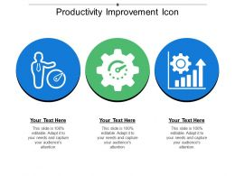 Productivity Improvement Icon