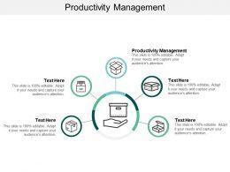 Productivity Management Ppt Powerpoint Presentation Portfolio Deck Cpb